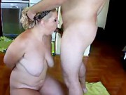 Lovely Voluptuous Brit Blonde Dommed By Small Three Inch Asian Desi Penis