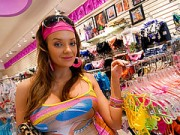 Shopping With Nika Leads For A CreamPie