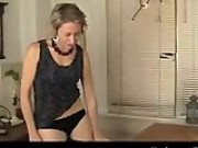 Lonely MILF Fucks A Table Until She Orgasms