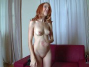 Sexy And Aroused Playful Redhead Babe
