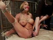 Blonde Gets A Rough Sexual Punishment In Dungeon