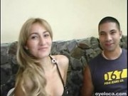Spicy Blonde Colombian With Huge Tits Loves Getting Her Pussy Cracked Open - Latina Sex Video