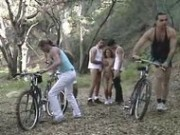 Draghixa Laurent  Butt Banged Bicycle Babes - Anal Sex Video