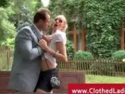 Rich Couple Banging The Real State Agent Lady - Hardcore Sex Video