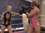 Hardcore Action With A Gorgeous Babies Barbie White And Cipriana In The Fight Club