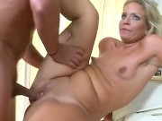 Watch The Great Porn Scene With Nasty Milf. The Blondie With Great Parts Of Body Is Going To Expose Delights Before Standing In Doggie And Feeling Penis Entering Ass.