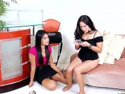 Sexy Juicy Bitches Jessica Bangkok And Tai Lee Liam Starve For Hard Cock In Their Pussies And Ass Holes!