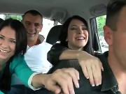 Lucky Boys Choky Ice And Tony Pick Uped Two Astonishing Babes Erika Bellucci And Sandra Cubezc