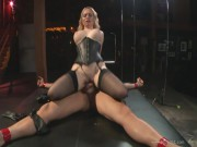 Dominatrix Aiden Starr Loves Getting Her Pussy Hammered
