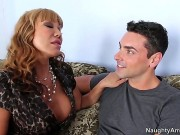 Ava Devine Is One Of The Hottest MILFs That You Will See On The Internet And This Fella Is Going To Learn That The Easy Way. He Just Needs To Put His Tongue To Use...